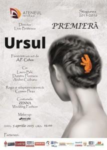 Afis-premiera-piesa-de-teatru-URSUL-Ateneul-Tatarasi-Iasi